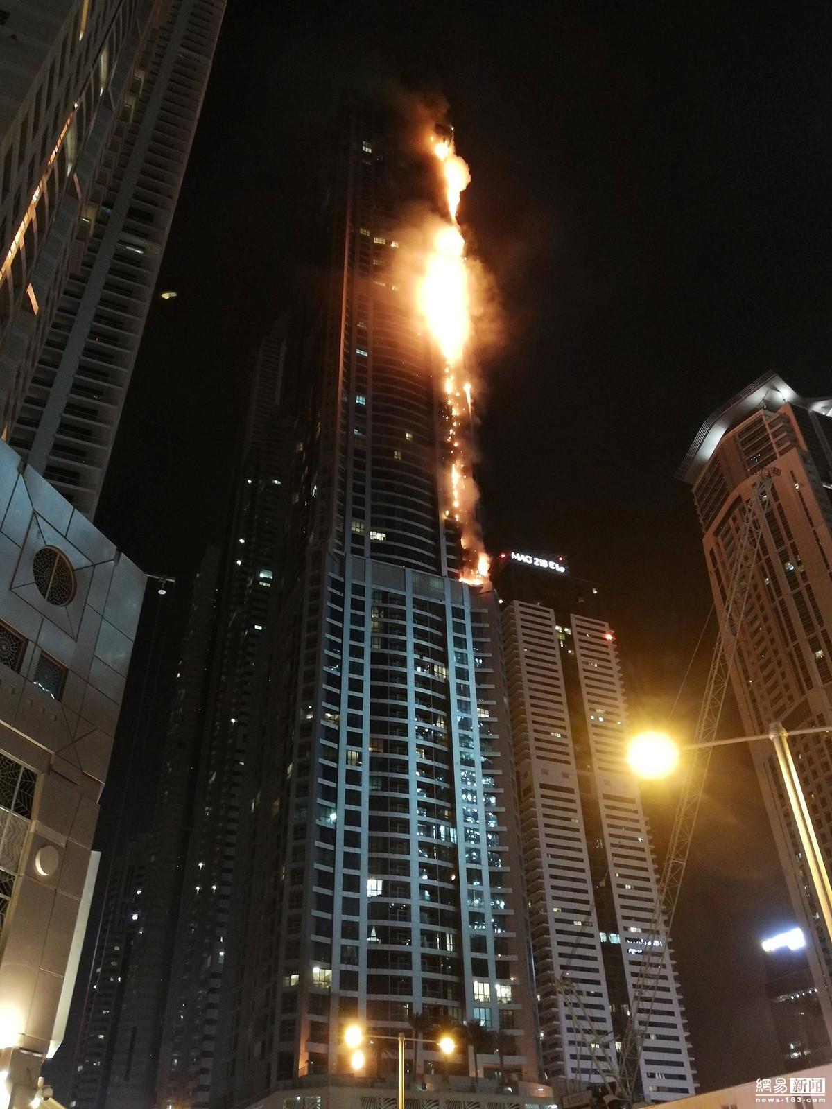 迪拜世界最高居民楼起火 共有86层 - 周公乐 - xinhua8848 的博客
