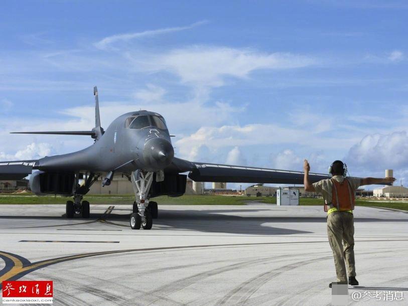 美日韩澳空军齐聚关岛 官方发导弹攻击紧急指引