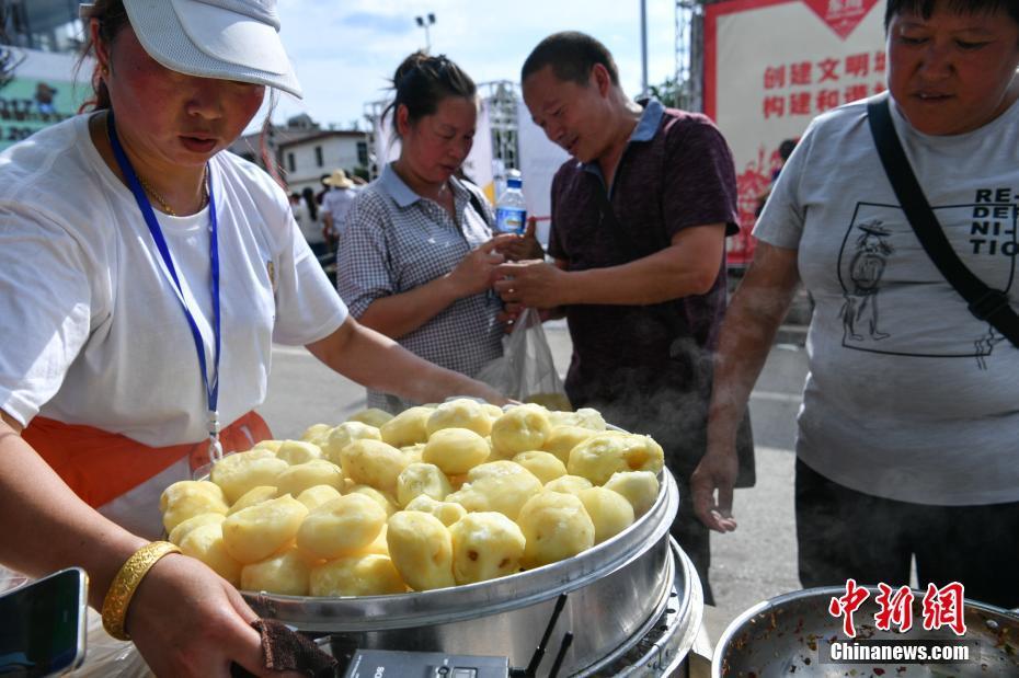 昆明东川举办开花洋芋节 全洋芋宴亮相 - 周公乐 - xinhua8848 的博客