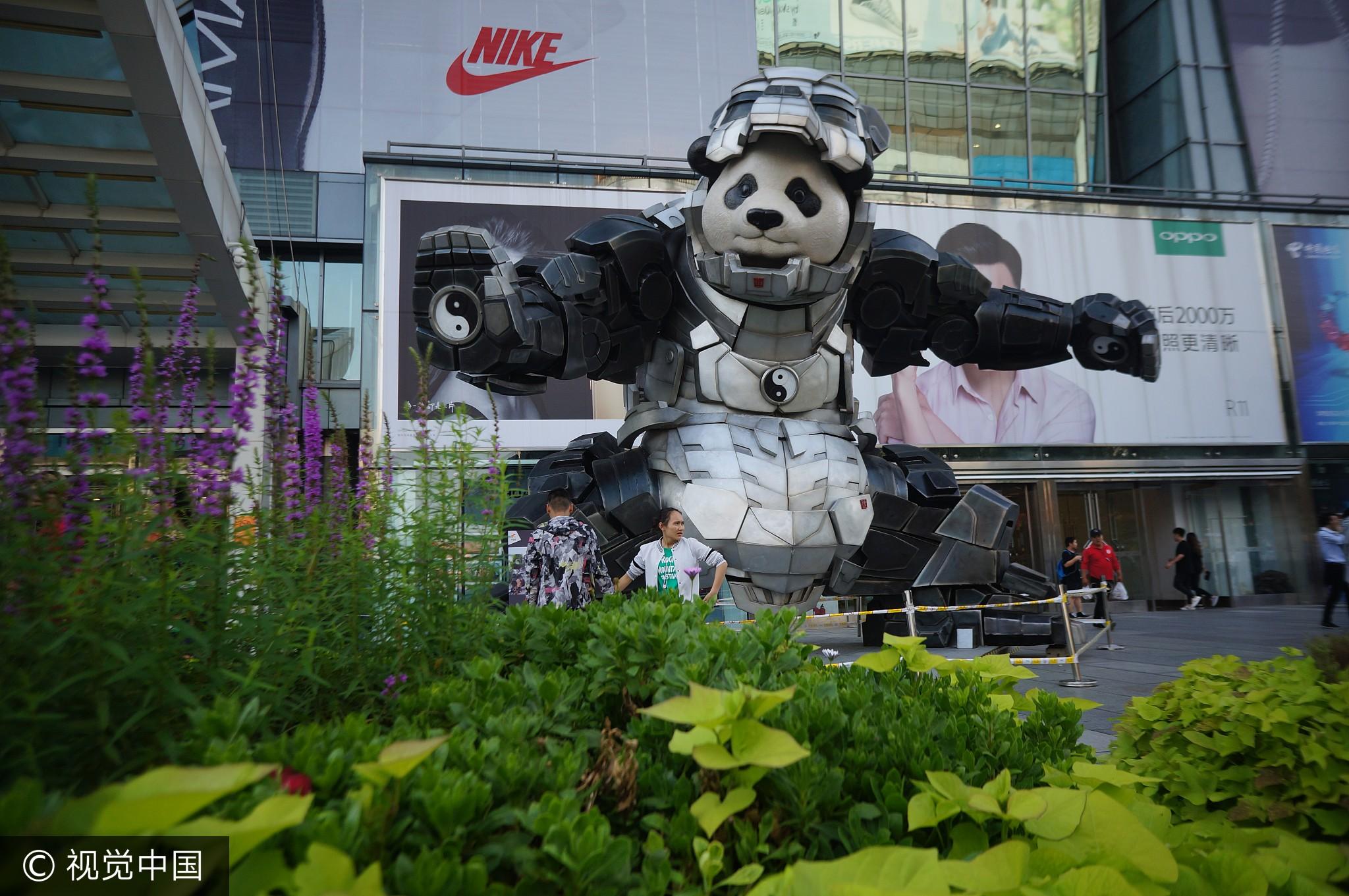China Panda Photo: transformers 1