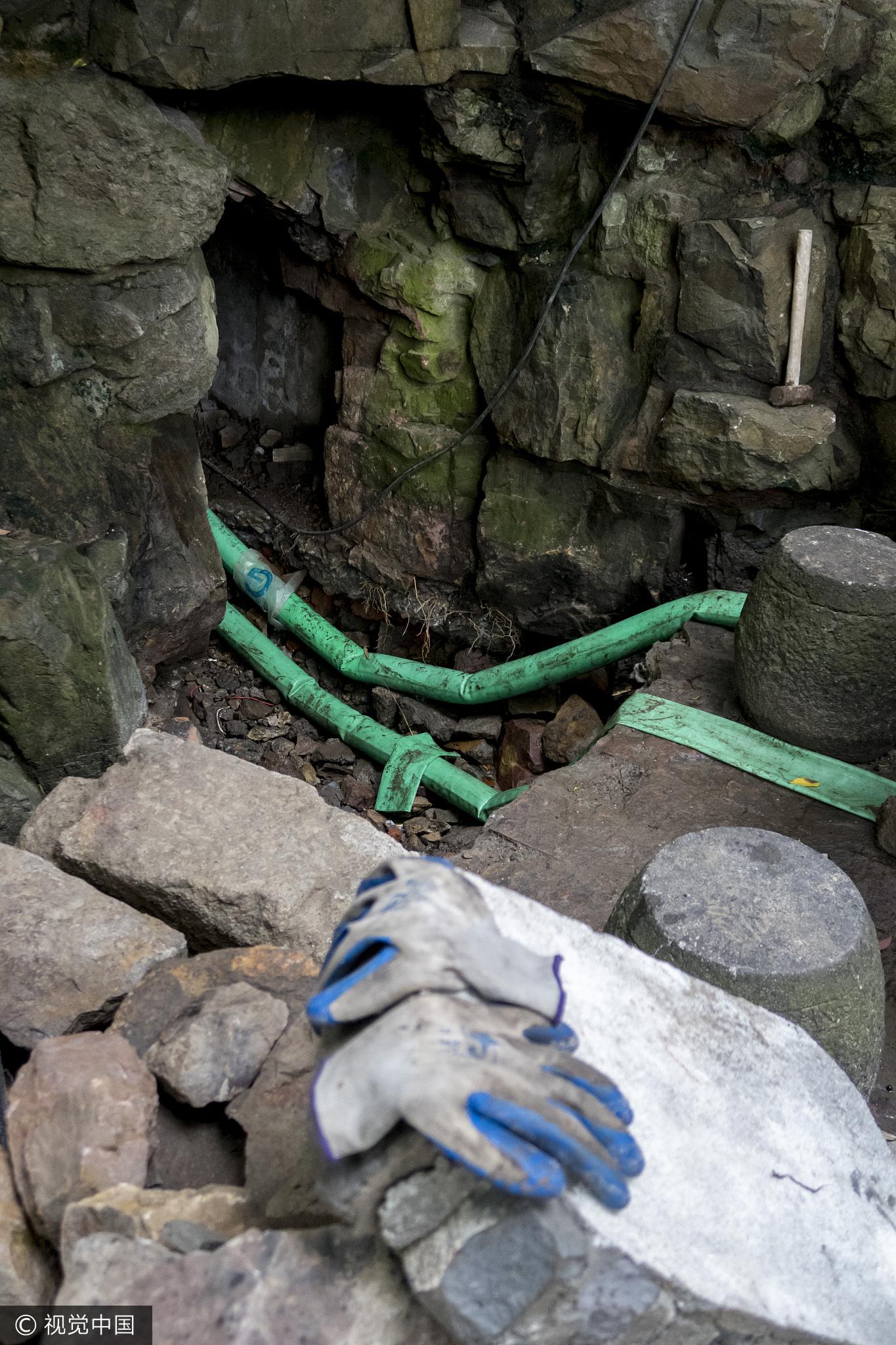 上海一公园假山下挖出1600平米防空洞 - 周公乐 - xinhua8848 的博客