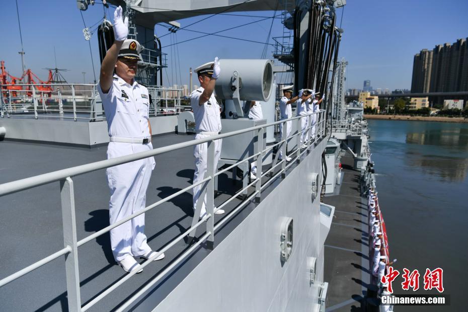 中俄举行联合演习 中国舰艇编队起航 - 周公乐 - xinhua8848 的博客