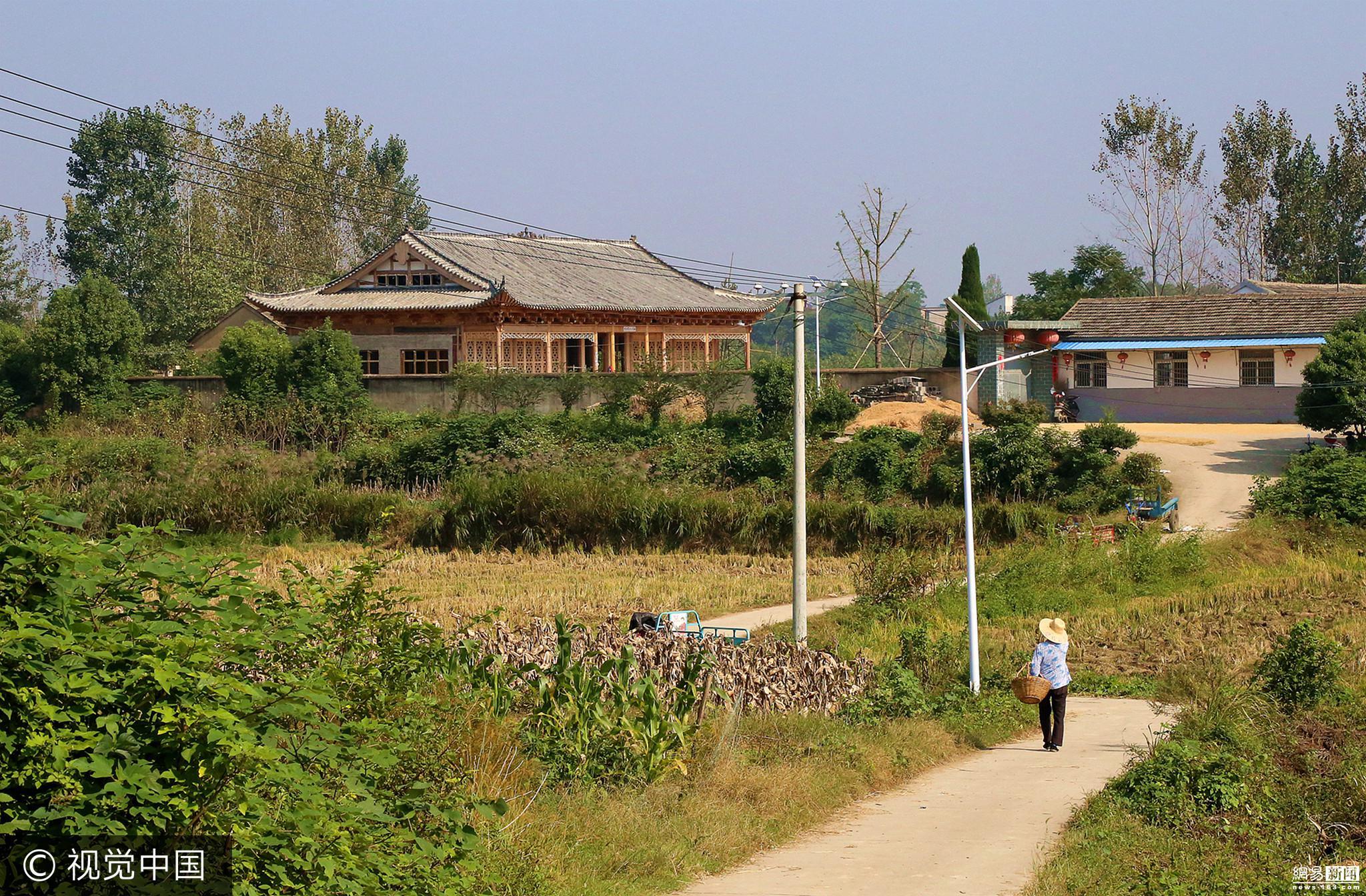 安徽一男子花300万元农村建宫殿自住 - 周公乐 - xinhua8848 的博客