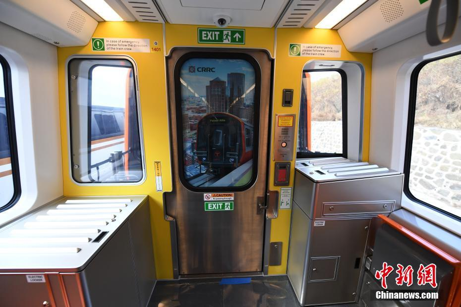 China-made Boston subway trains roll off line