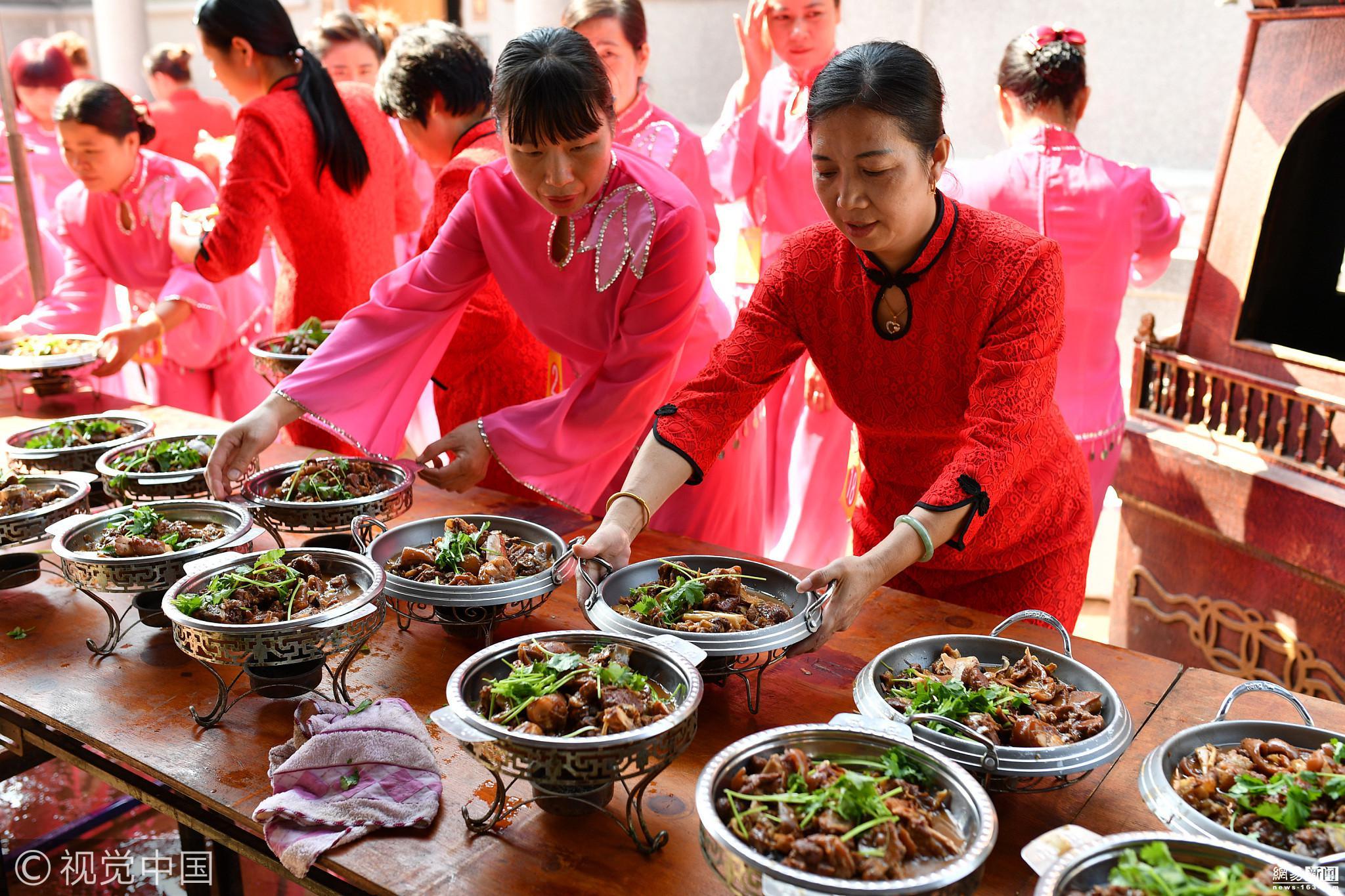 农村办宴席850元16道菜 媲美星级酒店! - 周公乐 - xinhua8848 的博客