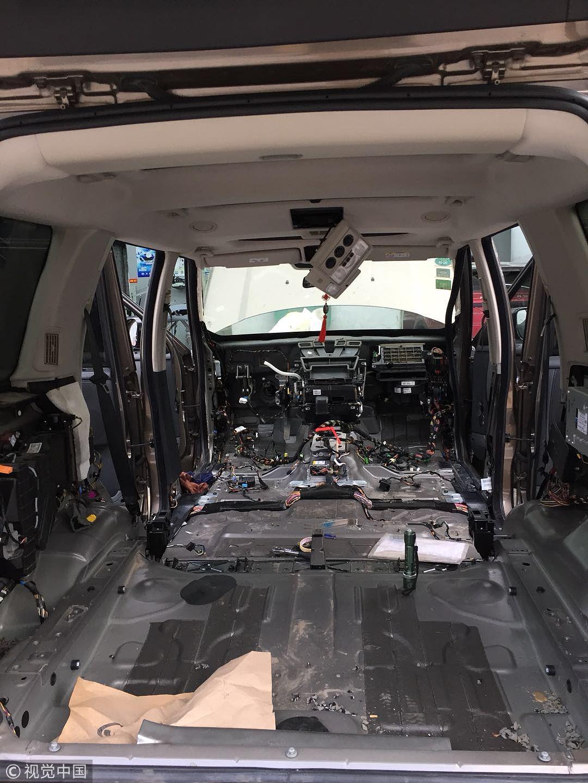 百万豪车内住进老鼠 为捕鼠车被拆得只剩壳 ! - 周公乐 - xinhua8848 的博客