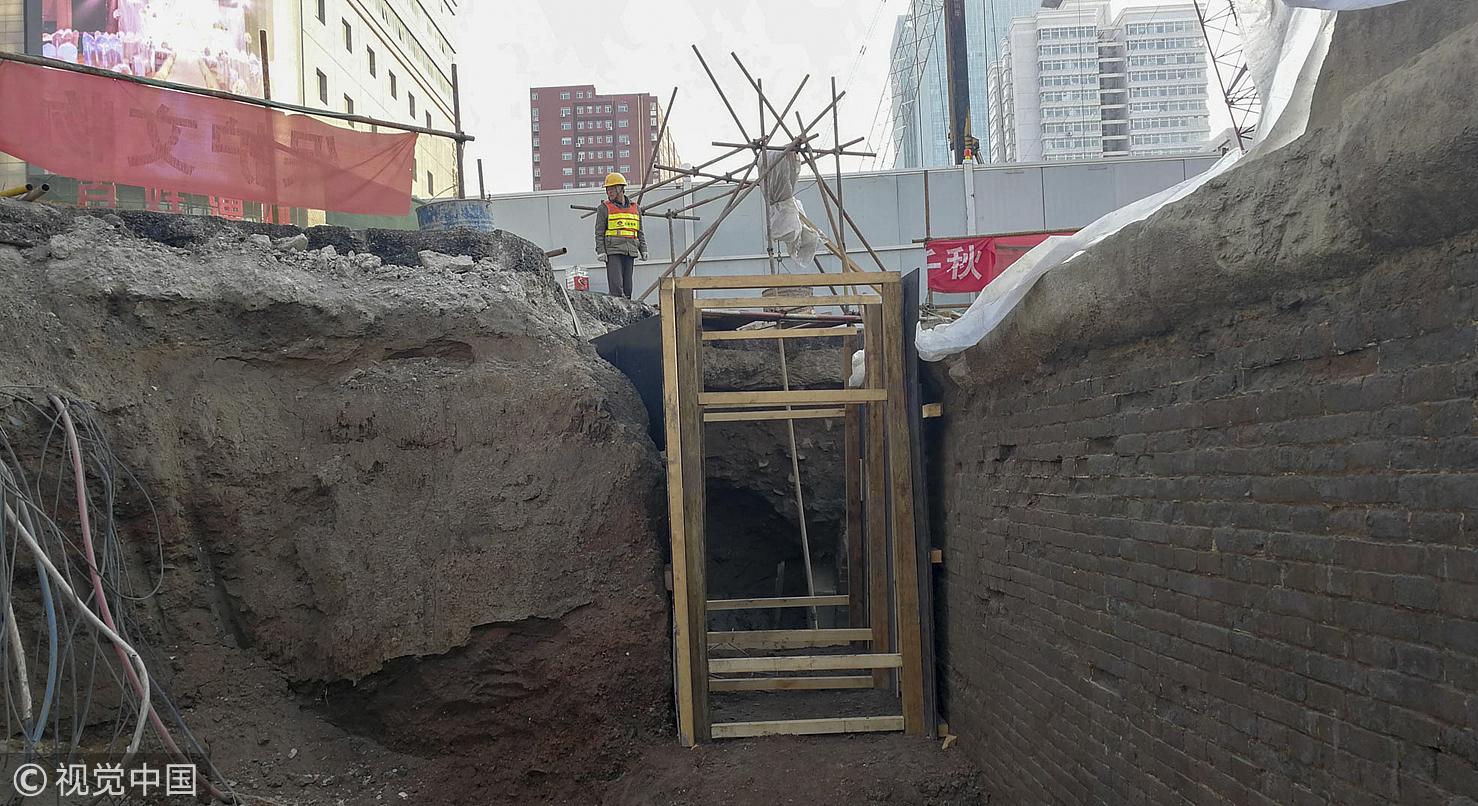 太原地铁施工挖出明代古桥 车辙清晰可见 - 周公乐 - xinhua8848 的博客