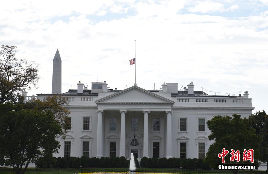 美国白宫为得州教堂枪击事件遇难者降半旗 (组图)