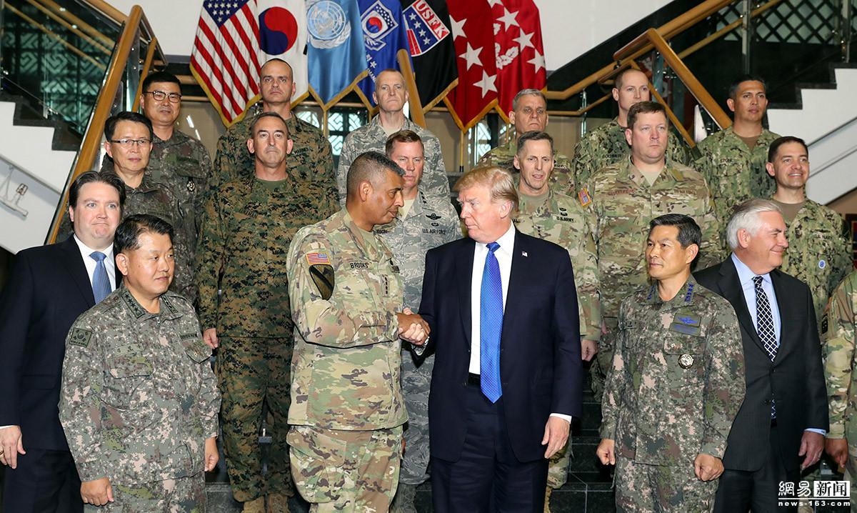 """韩美第八轮军费谈判进入""""加时阶段""""分歧仍较大"""