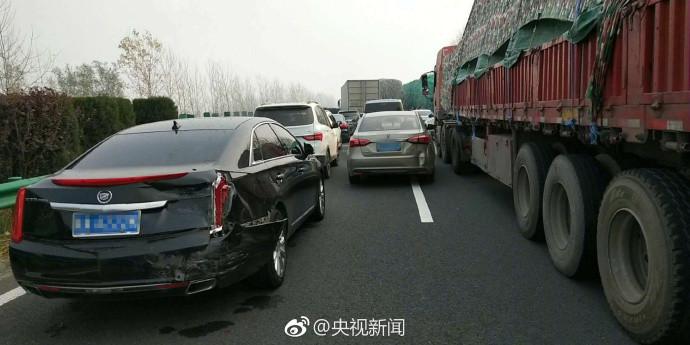 安徽阜阳境内高速多车追尾 部分车辆起火 !!! - 周公乐 - xinhua8848 的博客