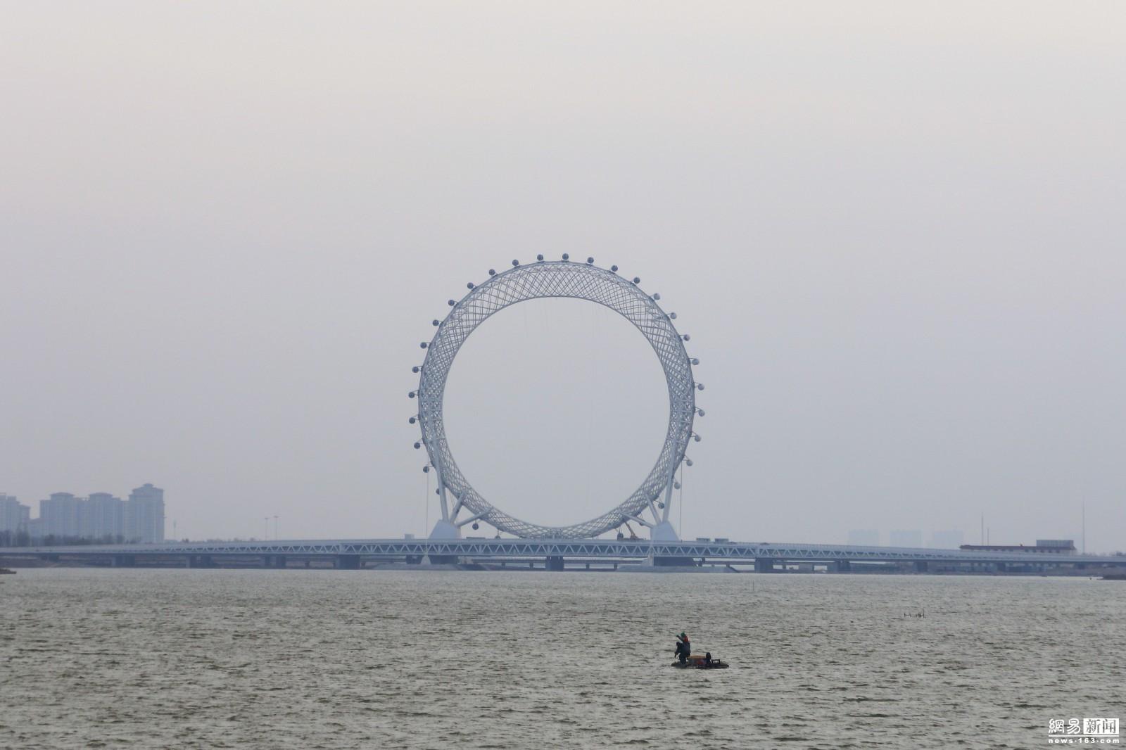 山东现世界最大无轴式摩天轮 高145米 - 周公乐 - xinhua8848 的博客