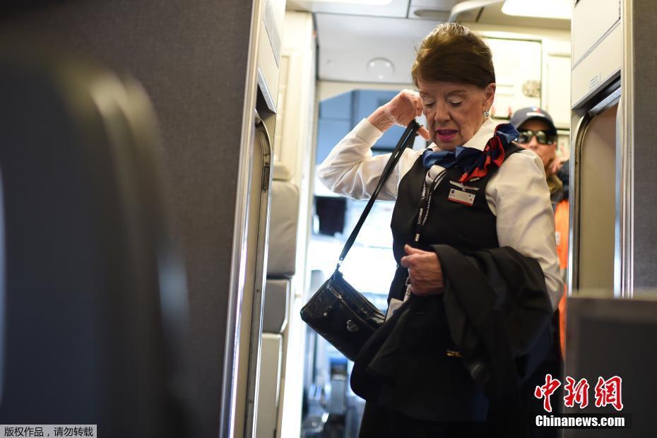 世界上最年长的空姐:81岁仍仪态优美 !!! - 周公乐 - xinhua8848 的博客