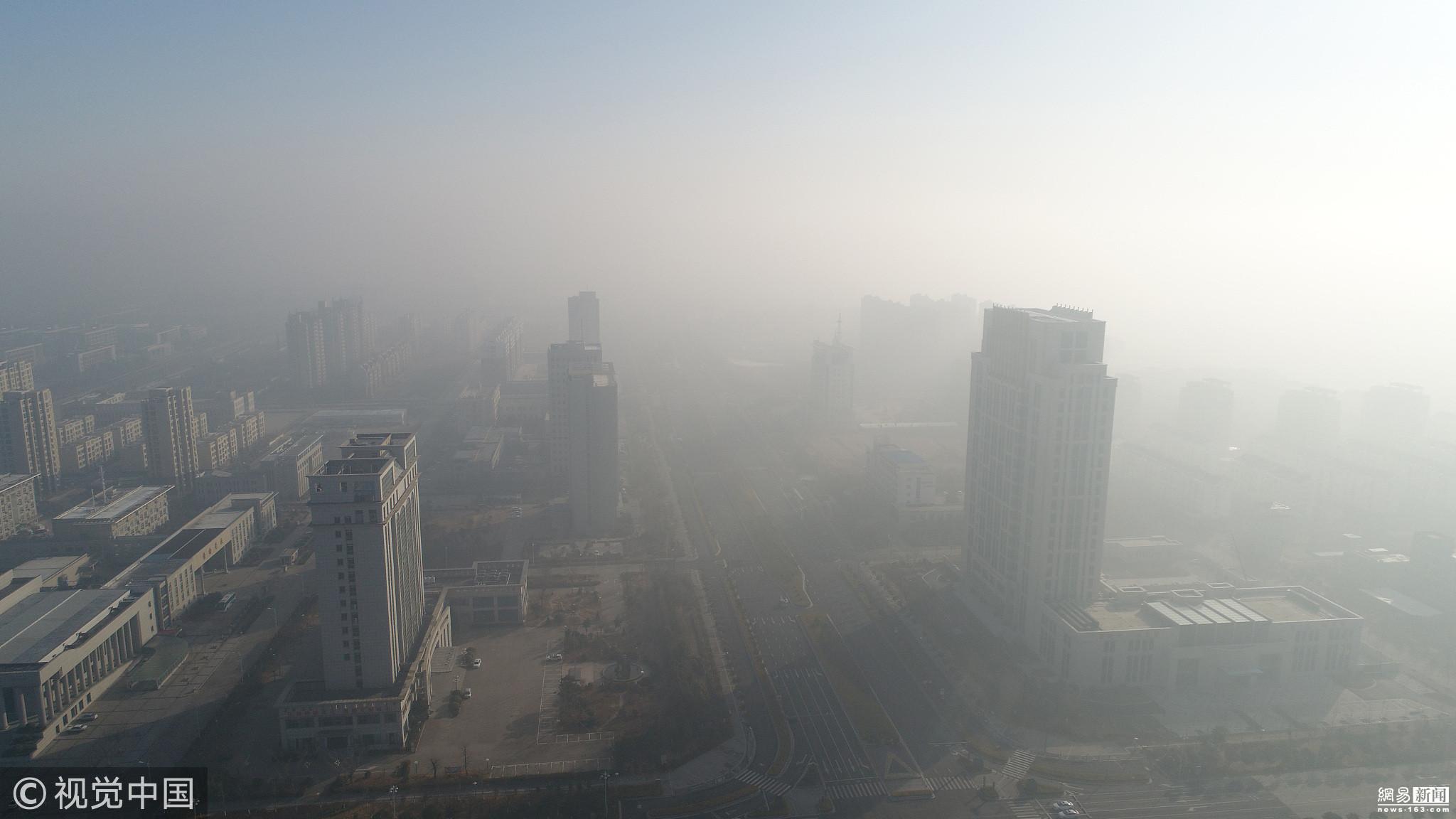 江苏大雾红色预警 多地能见度不足50米