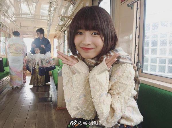 中国女大学生神似新垣结衣走红 称没有刻意模仿