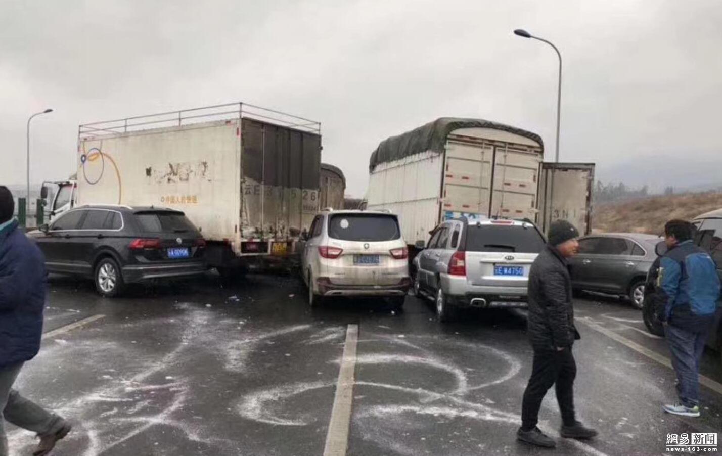 云南高速53车连撞 家属被搀扶到殡仪馆 !!! - 周公乐 - xinhua8848 的博客