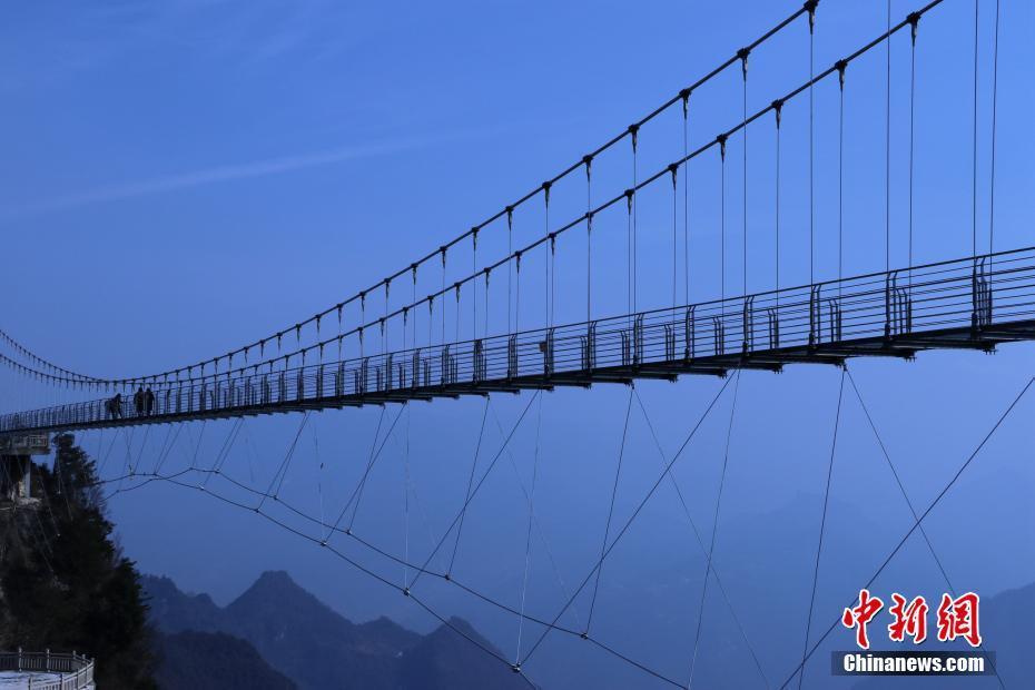 高海拔!四川建198米玻璃桥 成功连结川渝 ! - 周公乐 - xinhua8848 的博客