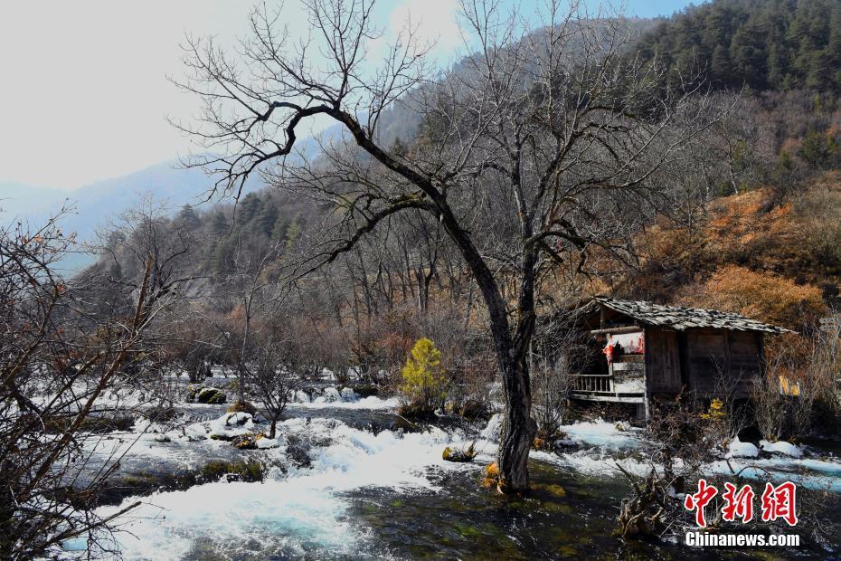 九寨沟震后恢复良好 冬景宛如童话世界! - 周公乐 - xinhua8848 的博客