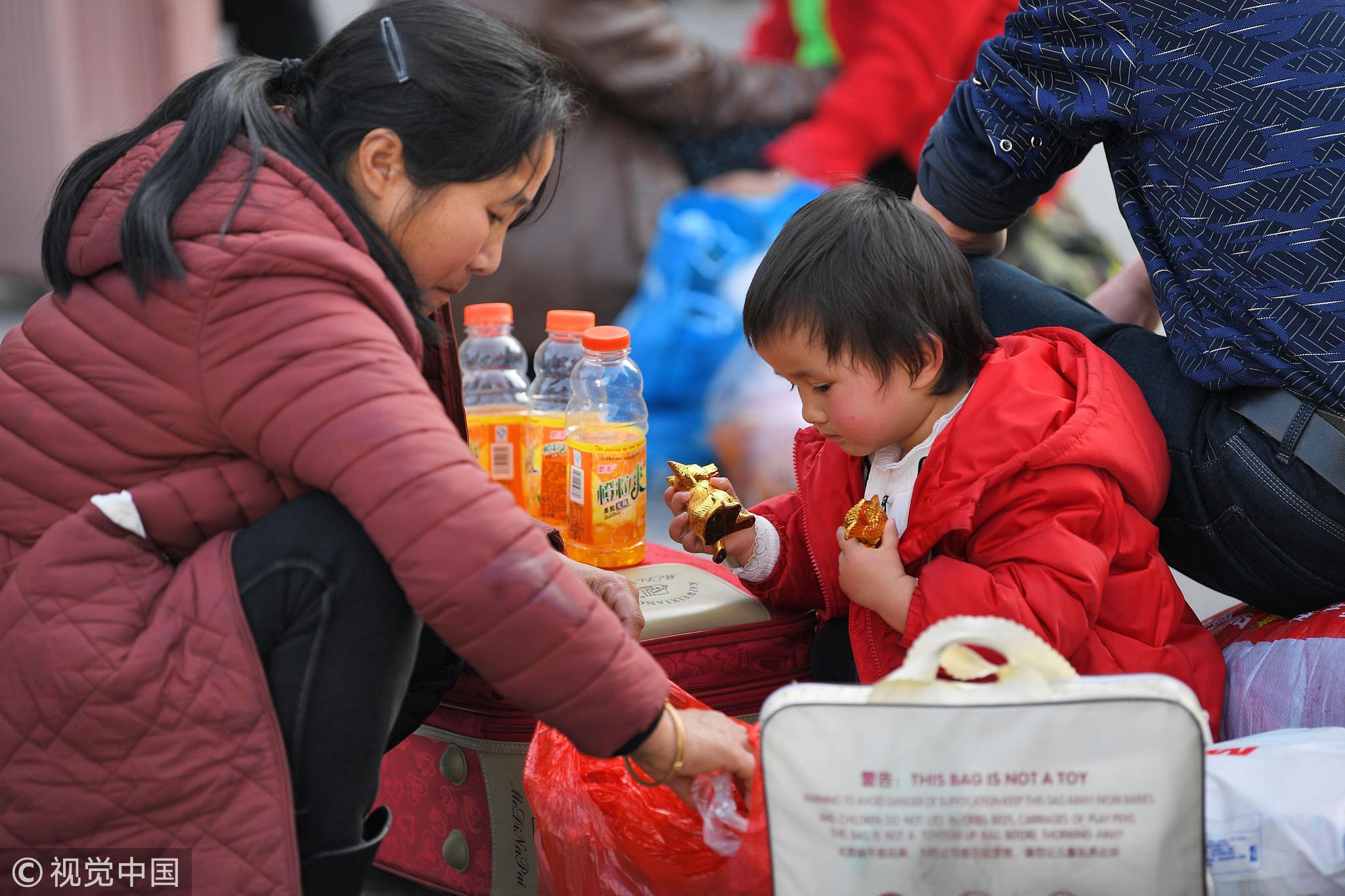 """小候鸟""""们随父母踏上返程路! - 周公乐 - xinhua8848 的博客"""