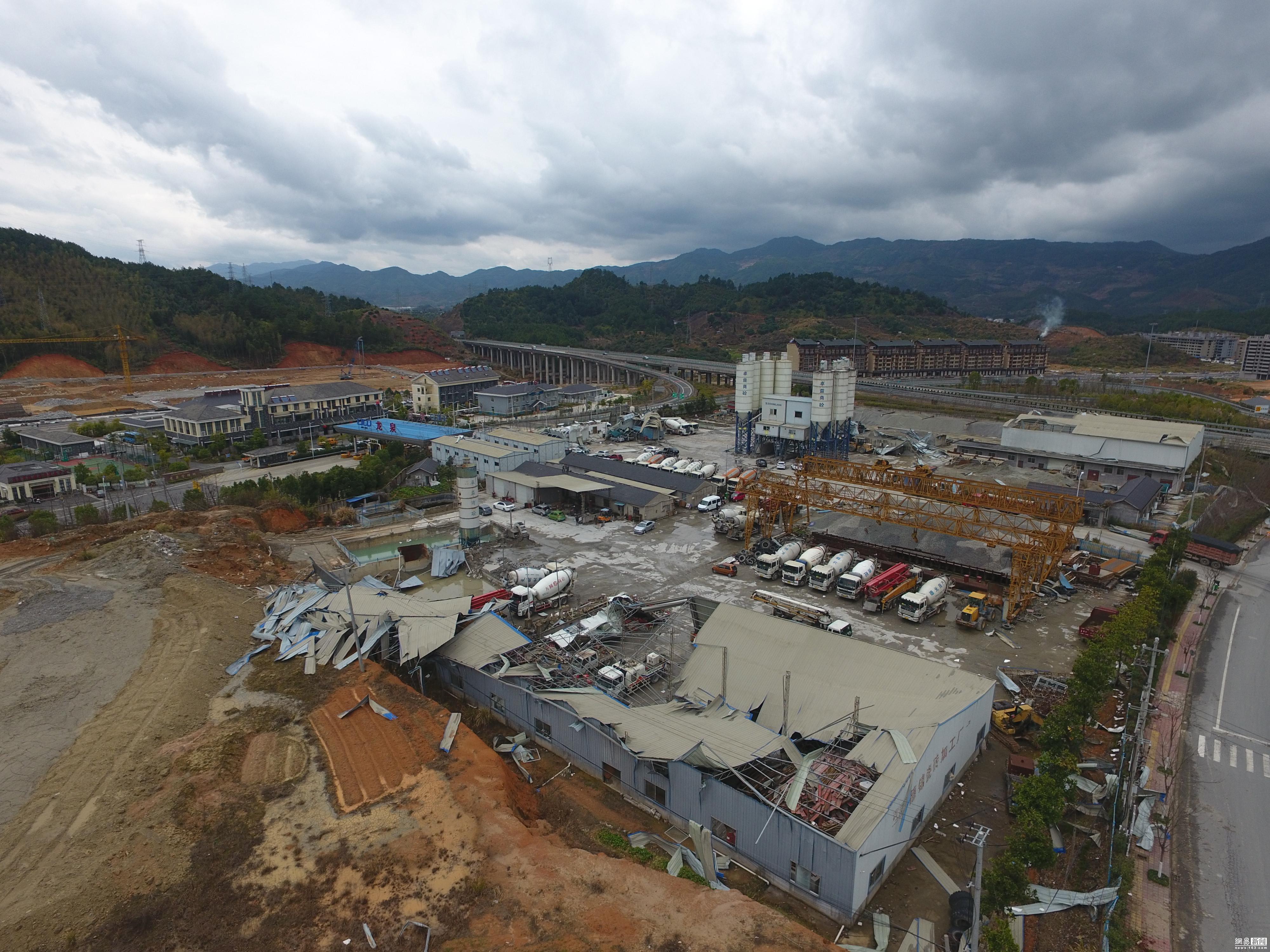 浙江龙泉遭遇强对流天气 致建筑损毁2人死亡! - 周公乐 - xinhua8848 的博客