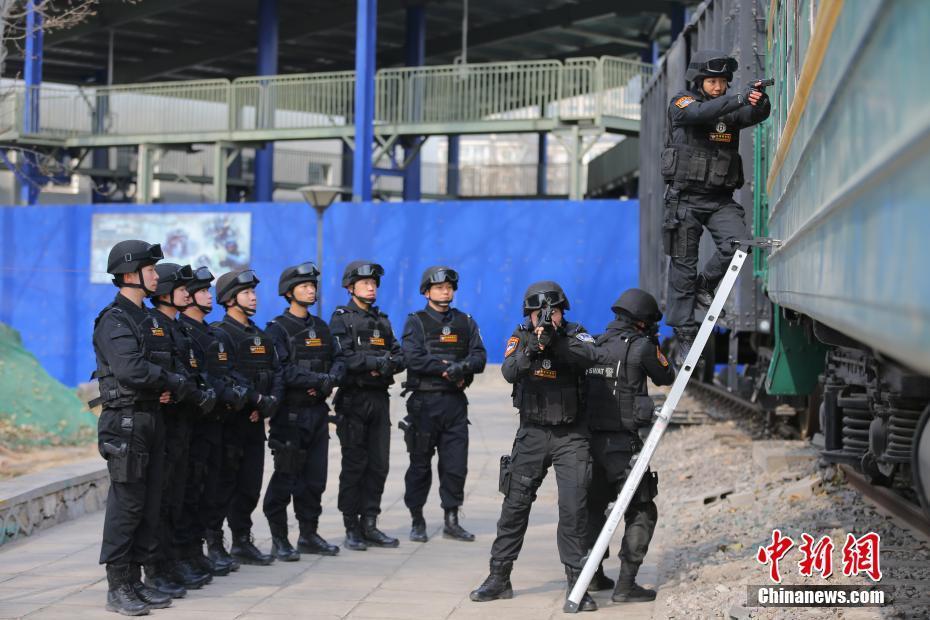 铁道飞虎女特警队长带男警员训练 ! - 周公乐 - xinhua8848 的博客