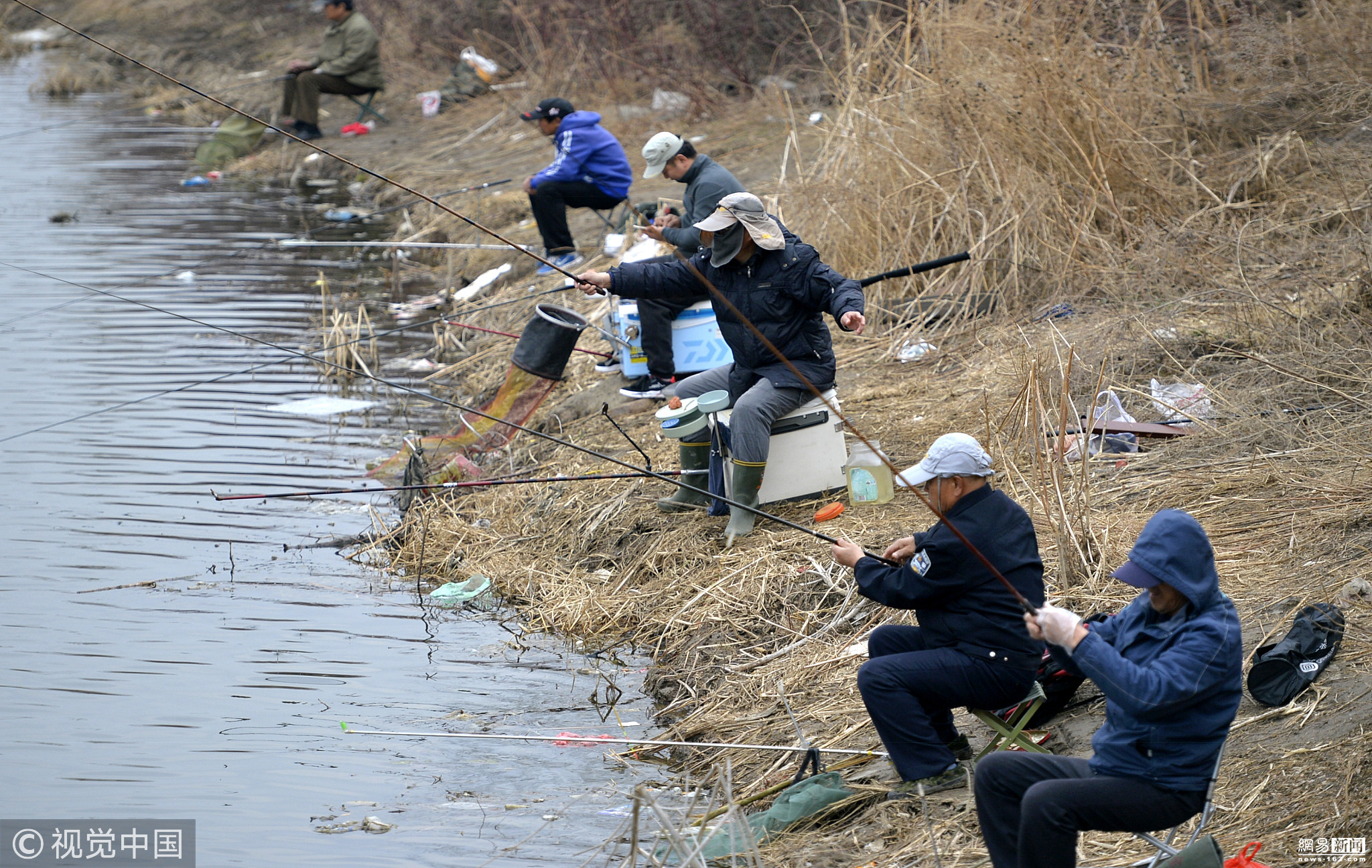 钓鱼与观花 - 长天秋水2 - 长天秋水 的博客