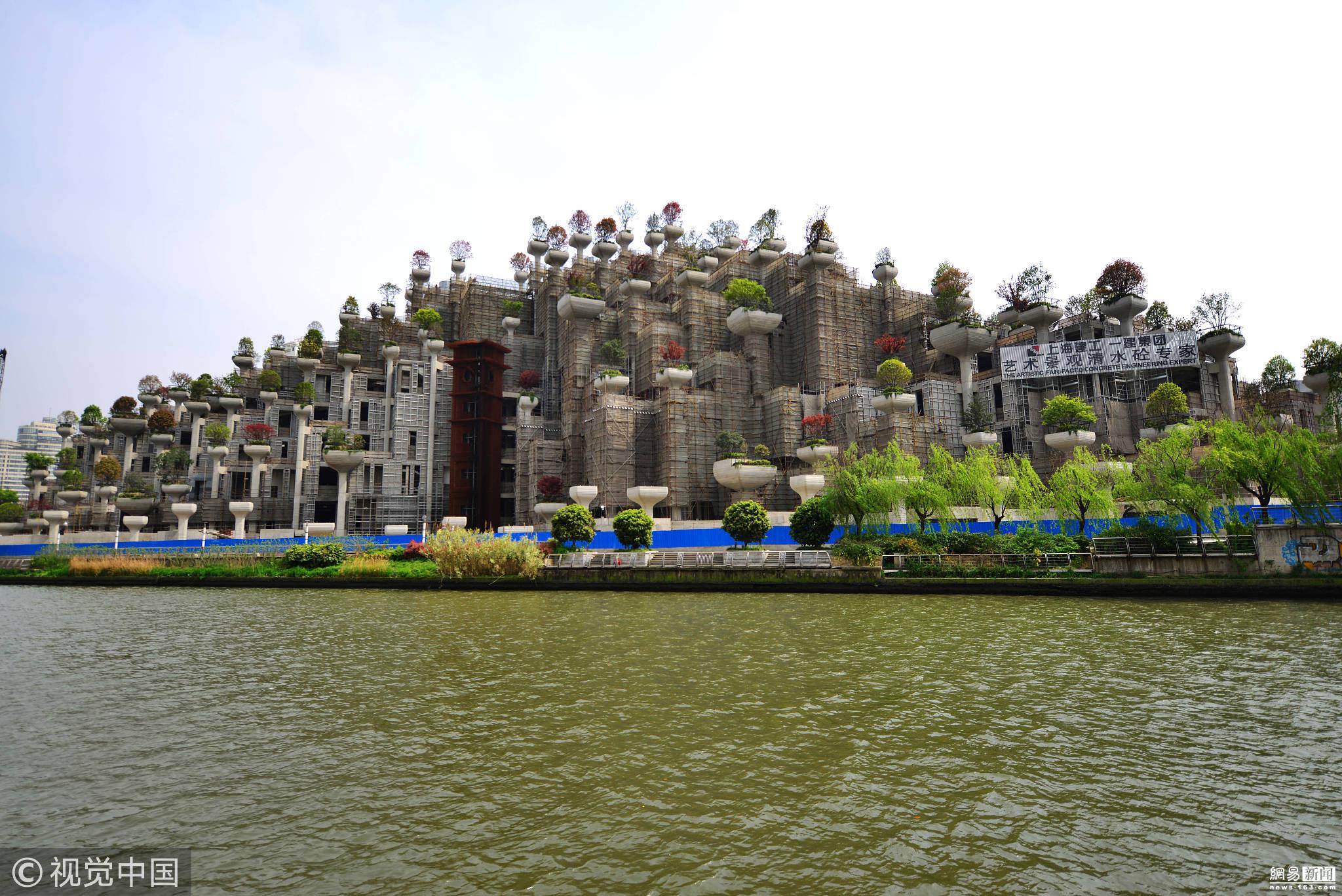 上海现古巴比伦空中花园 如时光穿梭! - 周公乐 - xinhua8848 的博客
