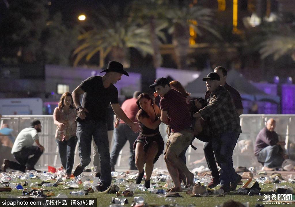 美国拉斯维加斯音乐节发生枪击案