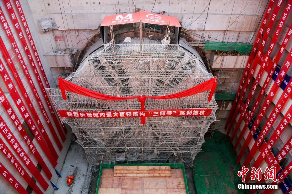 中国最宽江底隧道:汽车地铁可一起跑 ! - 周公乐 - xinhua8848 的博客