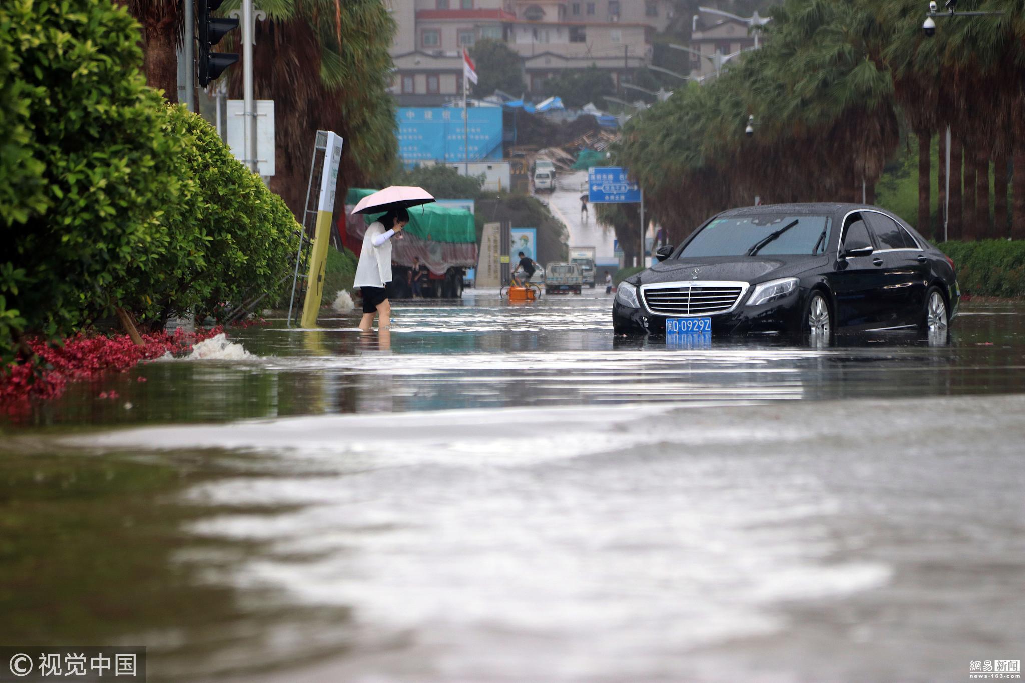 厦门遭强降雨袭击 多路段积水严重! - 周公乐 - xinhua8848 的博客