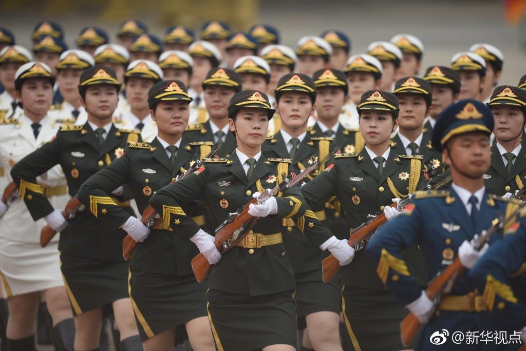 国事访问欢迎仪式改革 女兵方阵亮相 ! - 周公乐 - xinhua8848 的博客