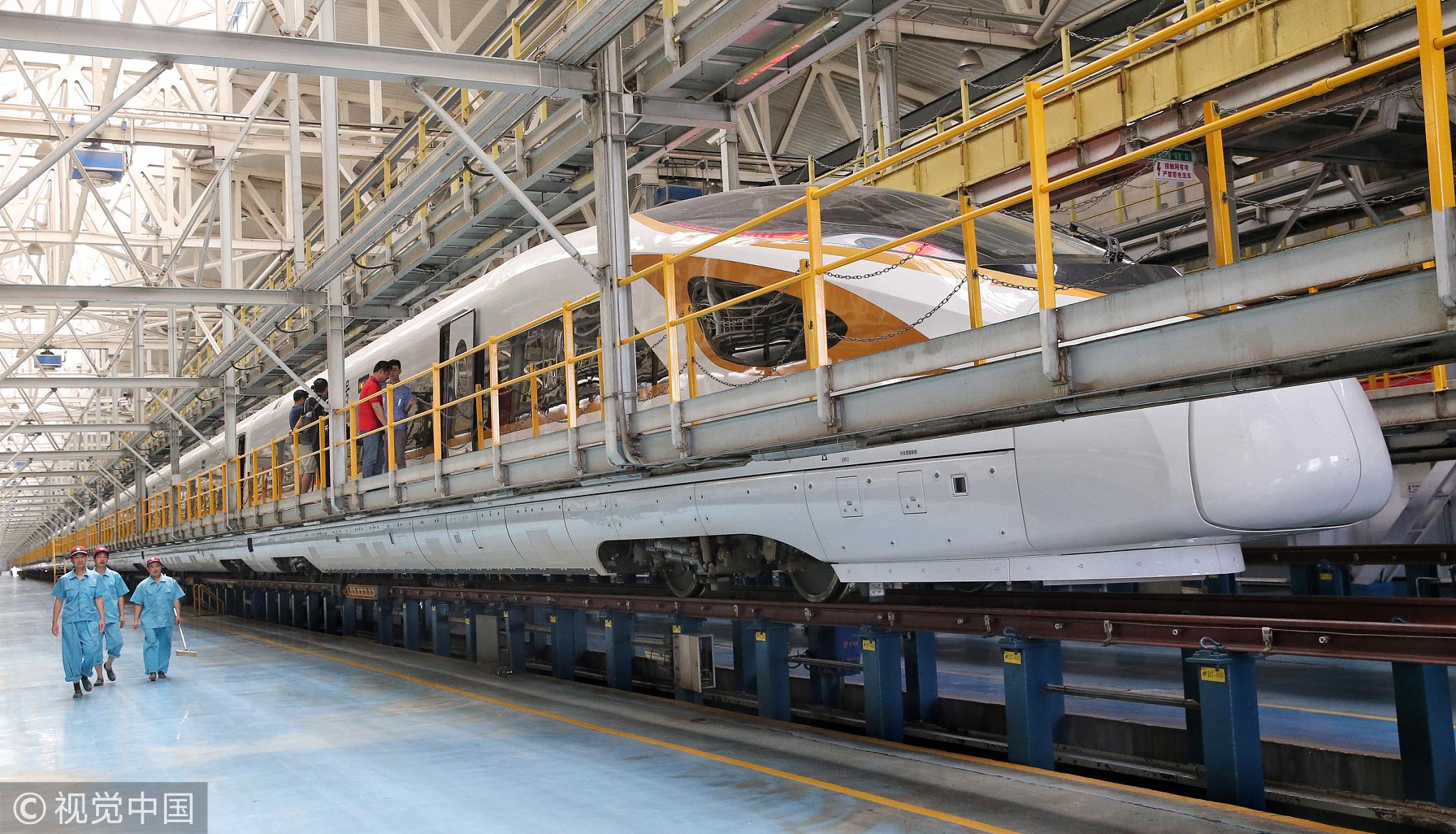 这是全球最长的高铁列车! - 周公乐 - xinhua8848 的博客