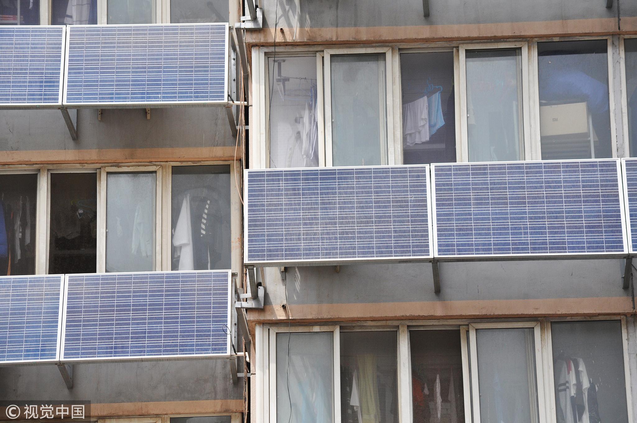 """北京交大一宿舍楼外墙""""爬满""""太阳能板! - 周公乐 - xinhua8848 的博客"""