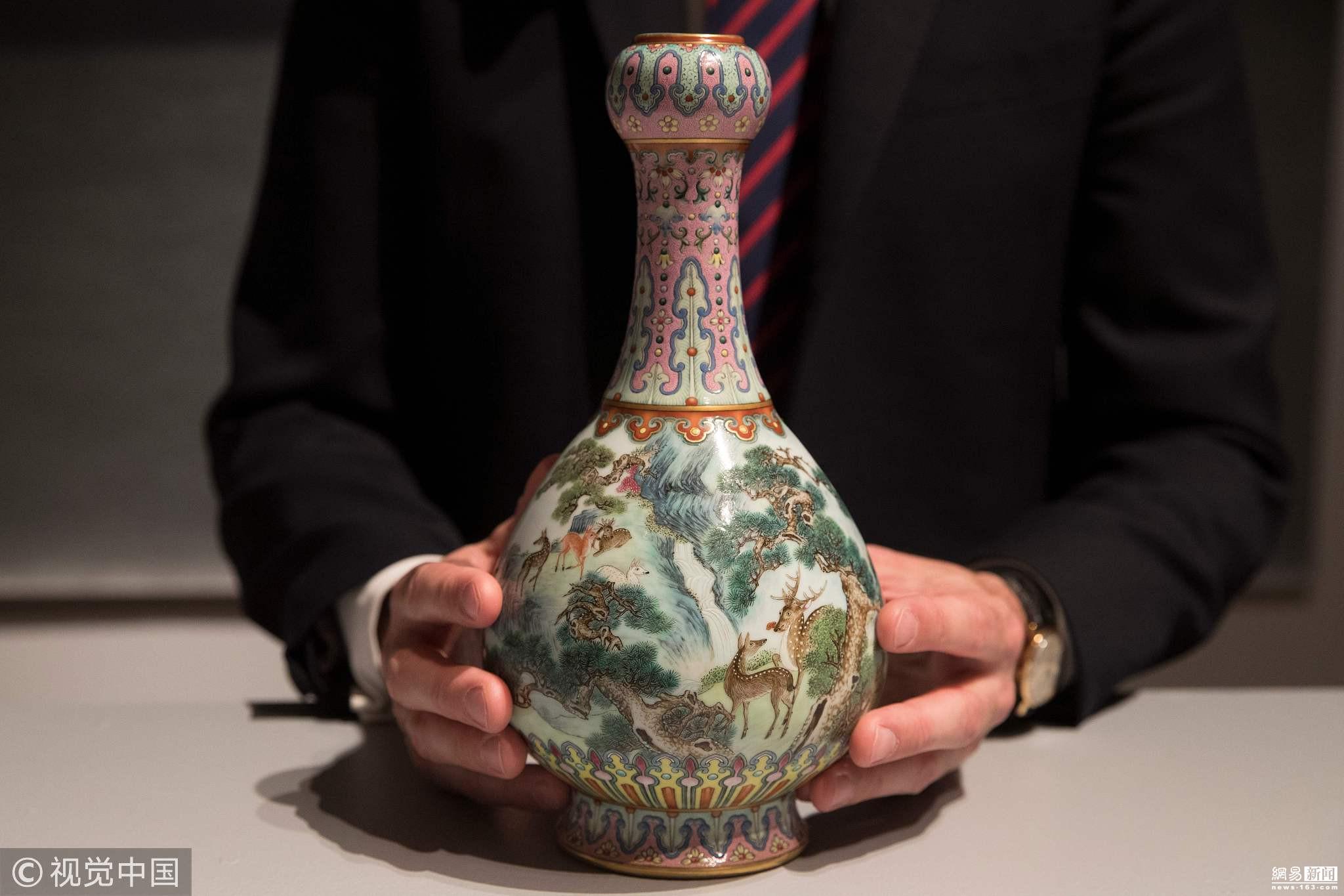 乾隆时期花瓶1.2亿元落锤 超过估价数十倍! - 周公乐 - xinhua8848 的博客