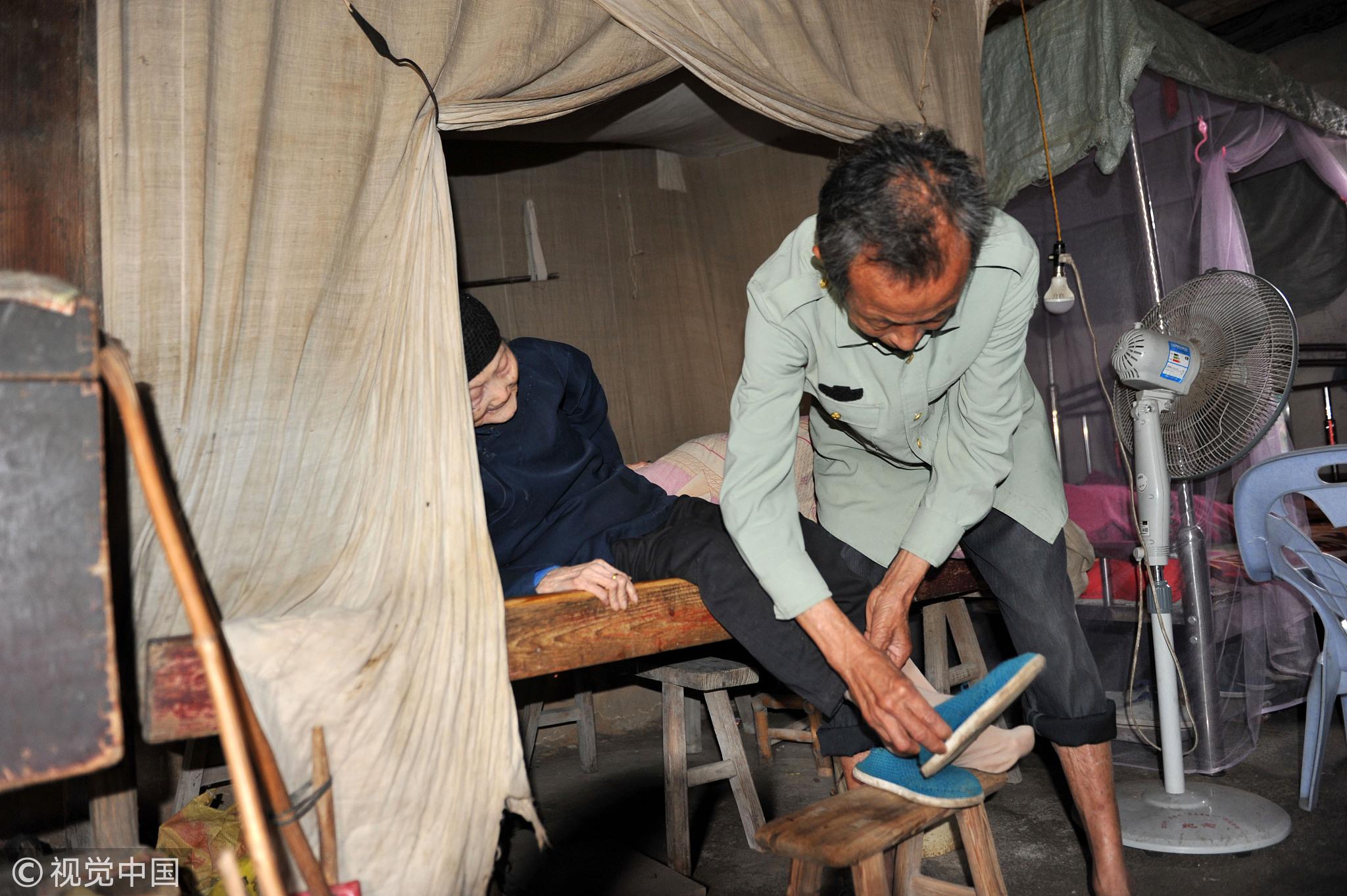 71岁女婿照顾102岁岳母34年 老人是妻子继母!!! - 周公乐 - xinhua8848 的博客
