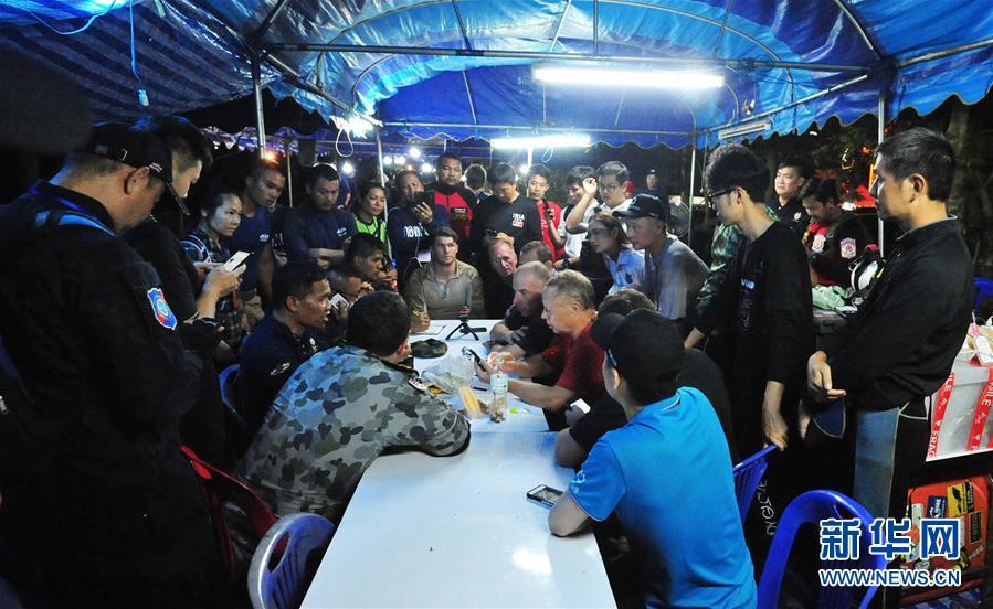 救援专家:目前转移泰国少年足球队员出洞难度较大