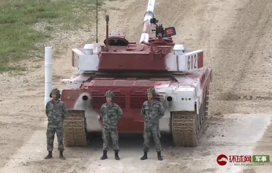 坦克两项单车赛第2轮:中国96B再夺小组第一