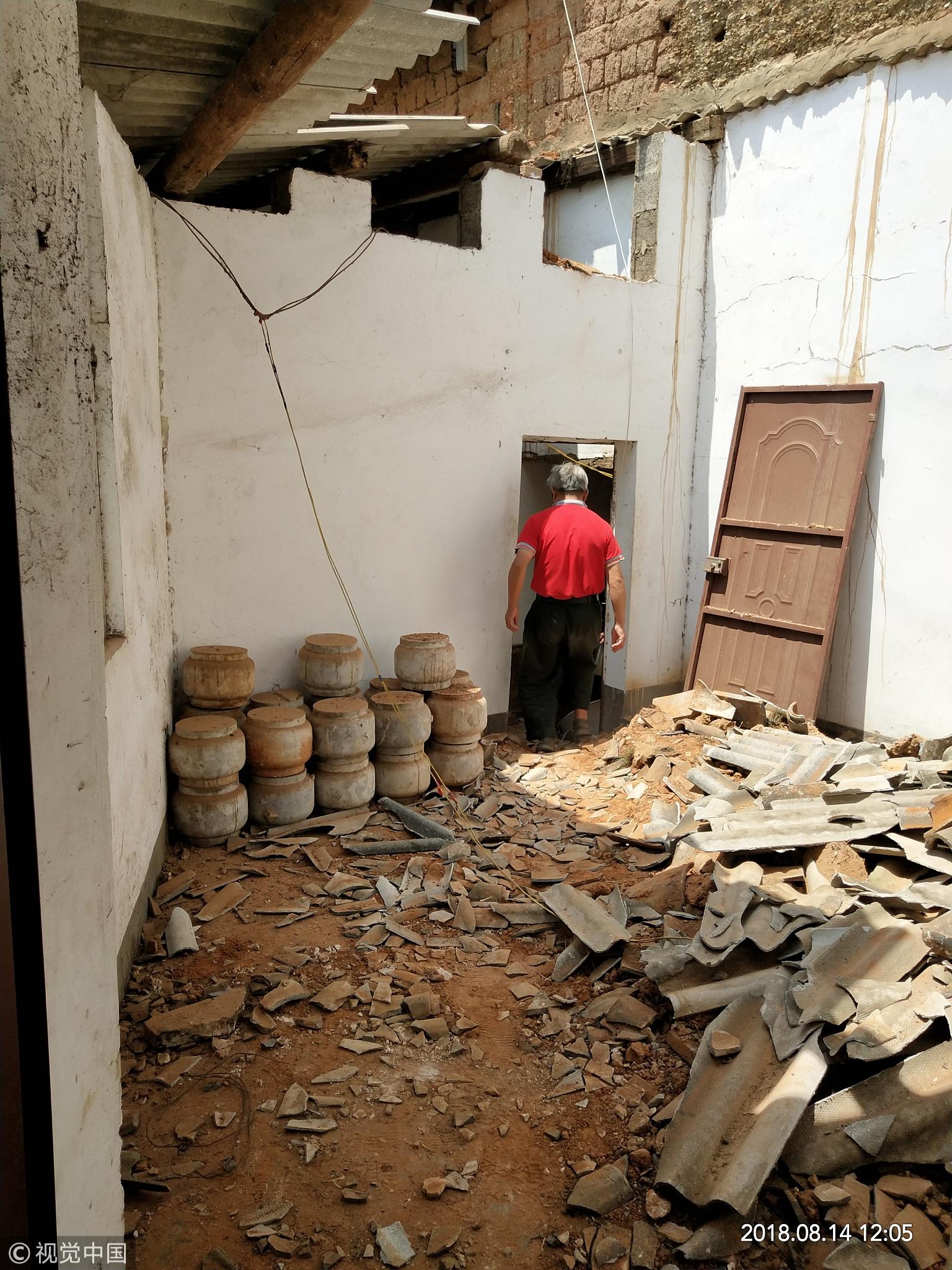 云南通海再次发生5.0级地震 救灾工作开展