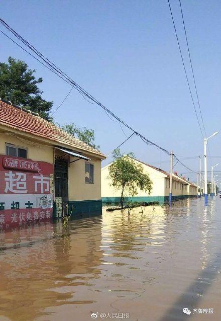 山东寿光遭遇洪水多村被淹 水深处能到腰部 ! - 周公乐 - xinhua8848 的博客