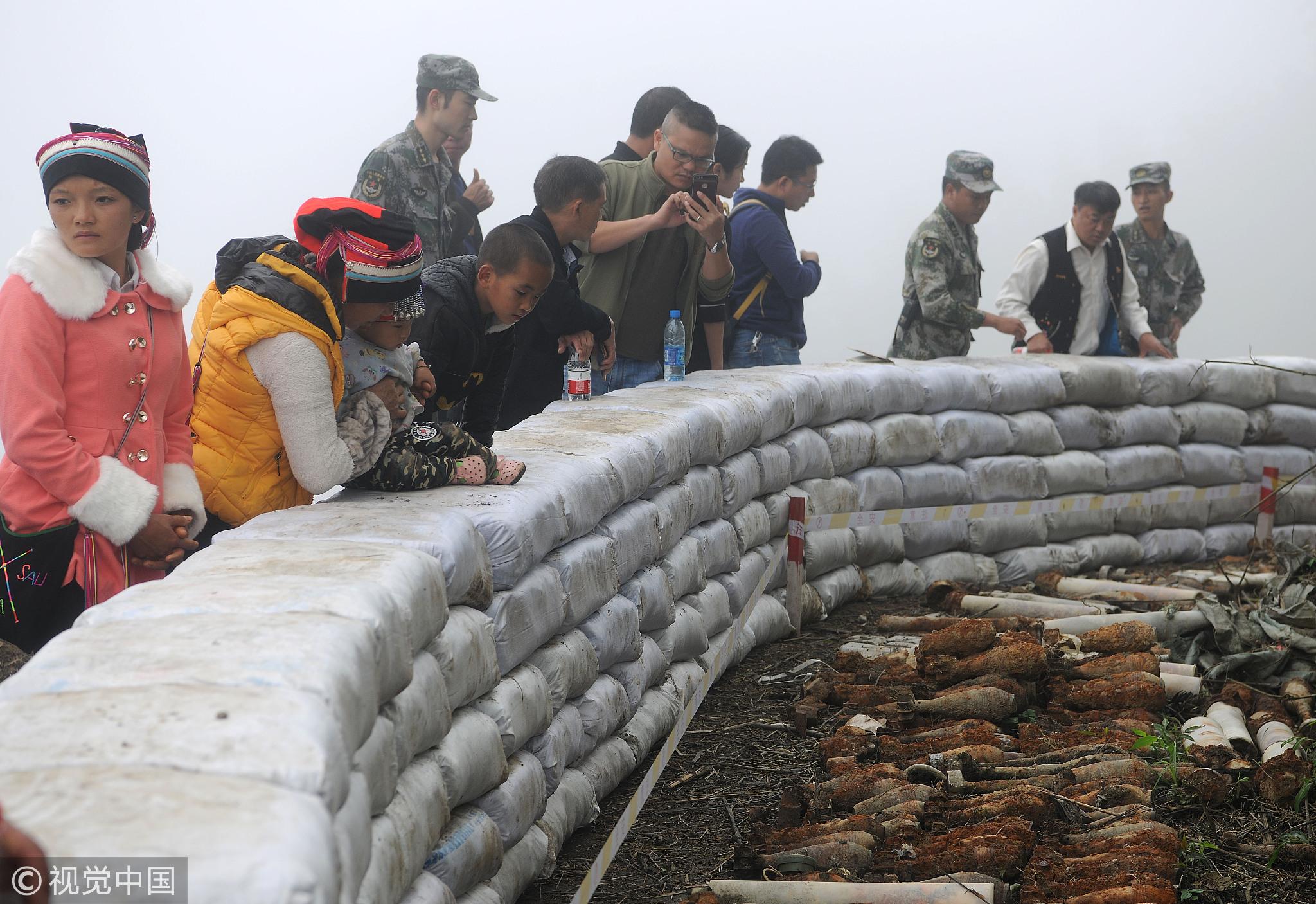 """对越自卫反击战的地雷战:越军误把中国地雷当成""""自己... _中华网"""