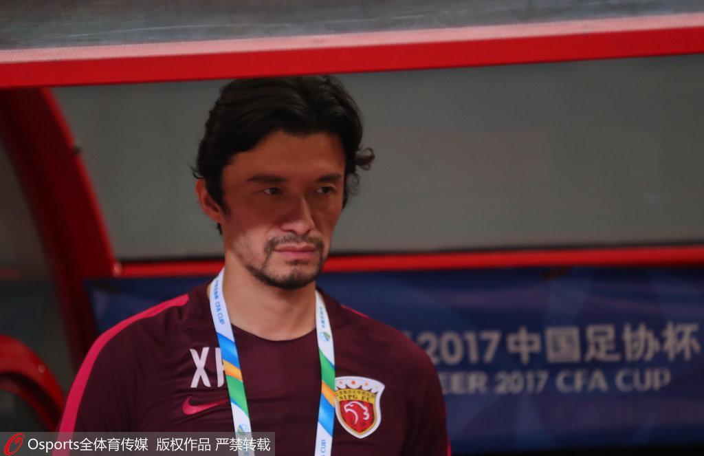 上海上港助理教练谢辉