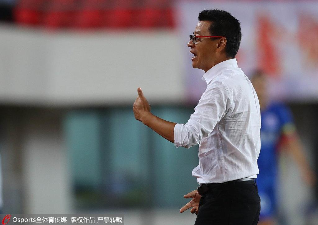 吴金贵:申花全员要感谢李帅 我们很期待下个对手