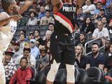 NBA季前赛:开拓者134-106快船