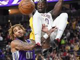 NBA季前赛:国王69-75湖人