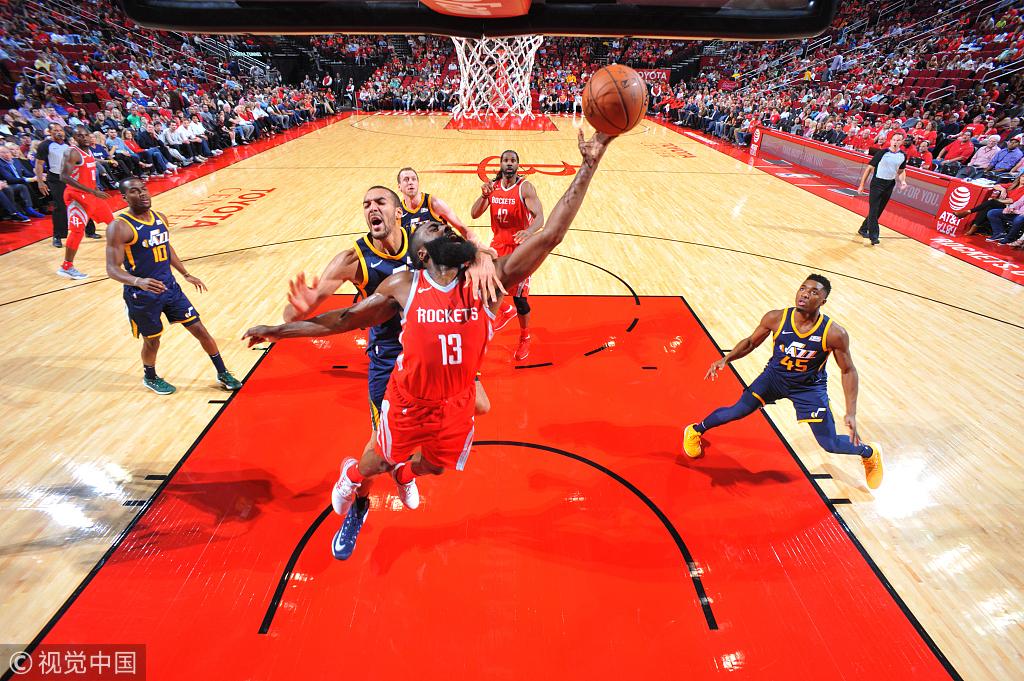 上帝登降臨!大鬍子狂飆56+13,創個人生涯新高!(影)-Haters-黑特籃球NBA新聞影音圖片分享社區