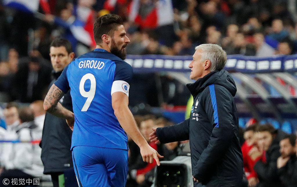 德尚透露世界杯最不想碰西班牙 法国队已很出色