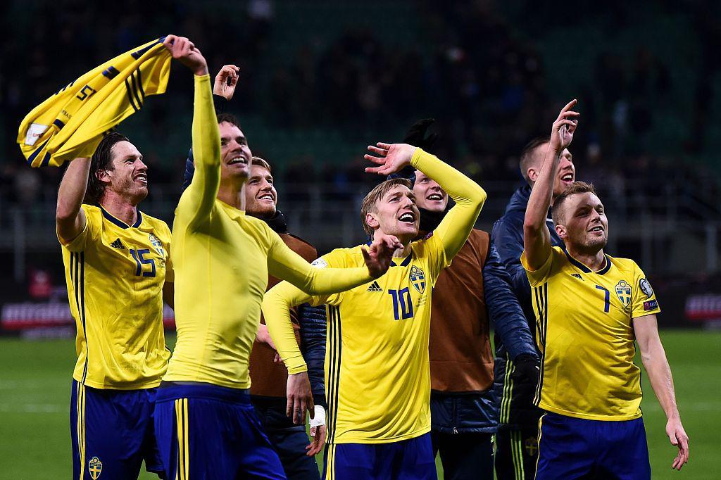 附加赛-意大利无缘世界杯!主场0-0总比分0-1瑞典
