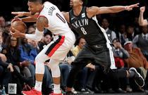 NBA常规赛:开拓者127-125篮网