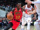 NBA常规赛:尼克斯104-116老鹰