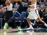 NBA常规赛:森林狼119-108太阳