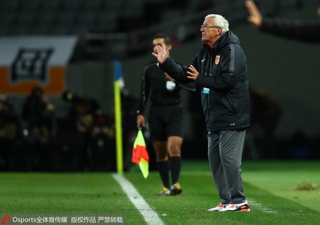 里皮:只有中国把U22当年轻球员 他们已经成熟了